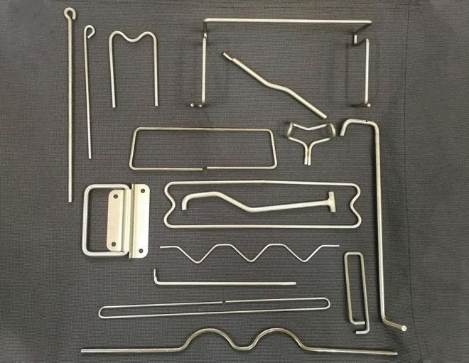 fabricación de piezas metalicas con varillas
