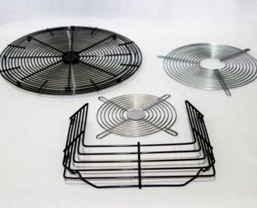rejillas de ventilación plastificadas